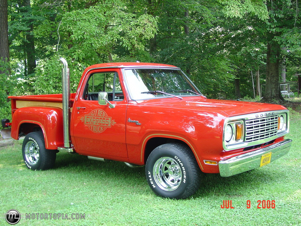 1978 Dodge Lil Red Express Wallpapers