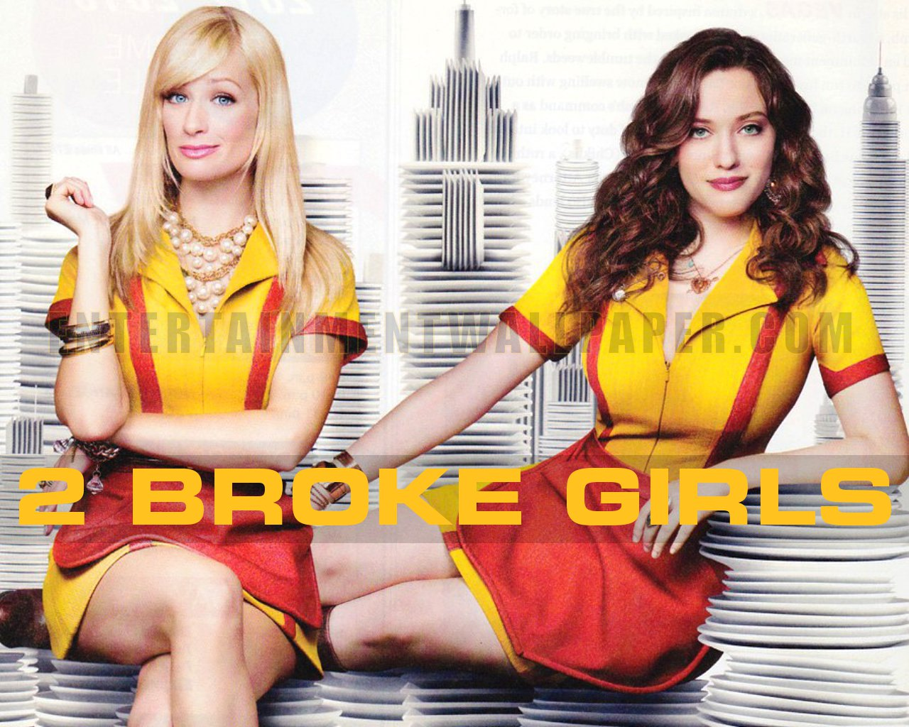 2 Broke Girls Pics, TV Show Collection