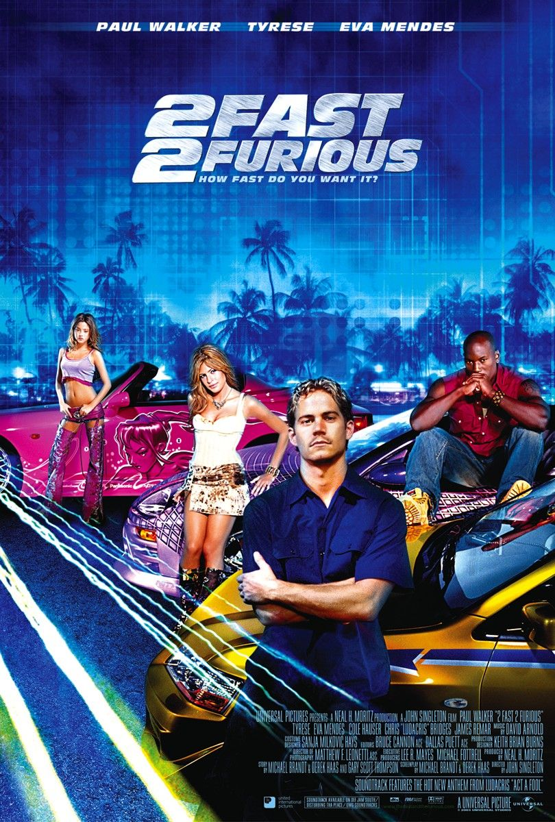 HQ 2 Fast 2 Furious Wallpapers | File 247.69Kb
