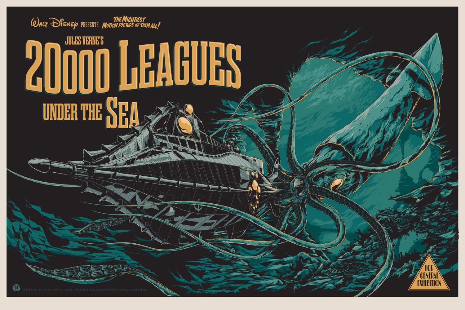 HQ 20,000 Leagues Under The Sea Wallpapers | File 1515.83Kb