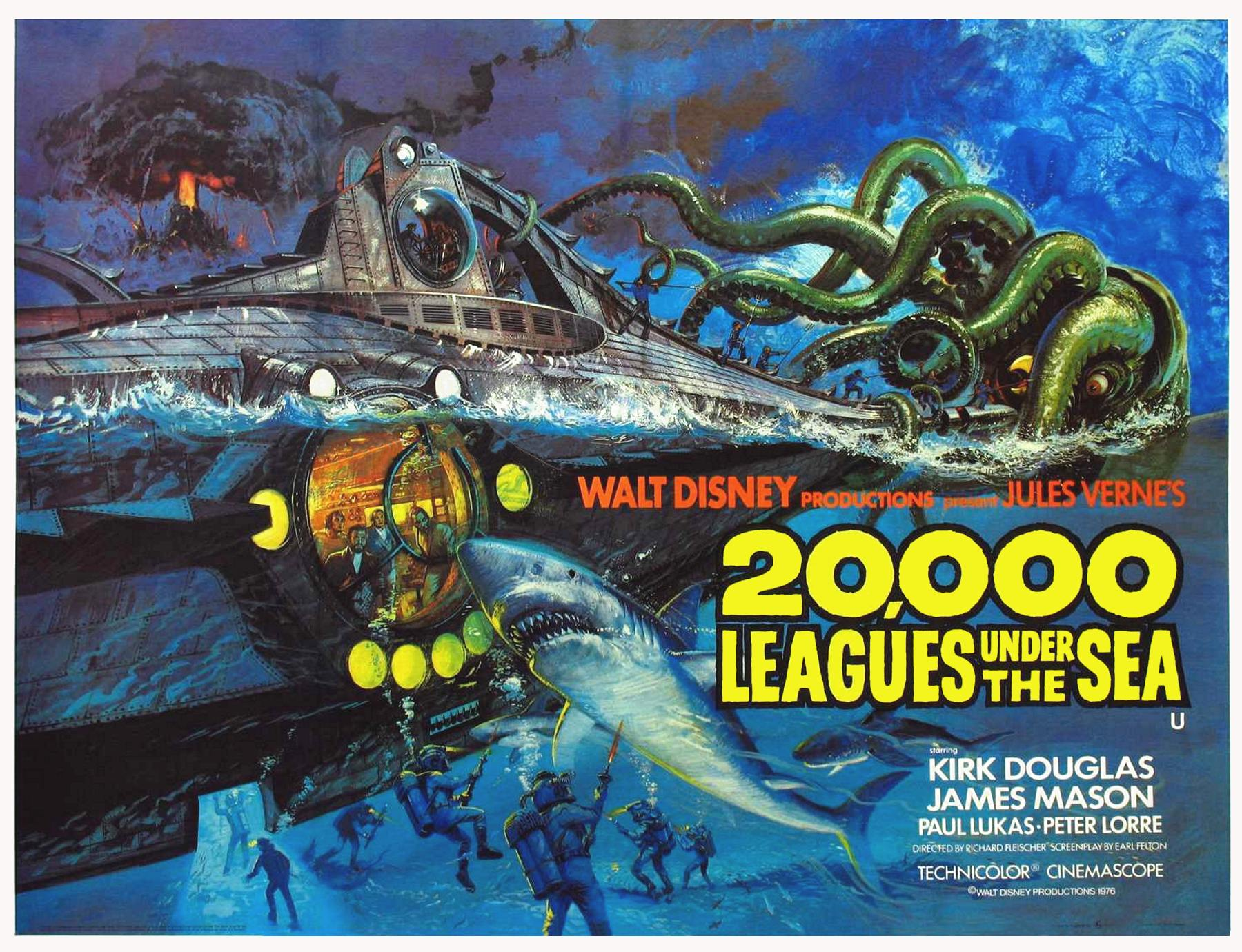 1800x1380 > 20,000 Leagues Under The Sea Wallpapers