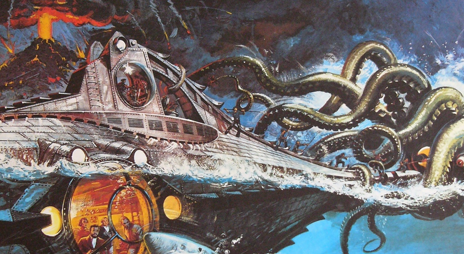 20,000 Leagues Under The Sea Backgrounds, Compatible - PC, Mobile, Gadgets| 1613x883 px