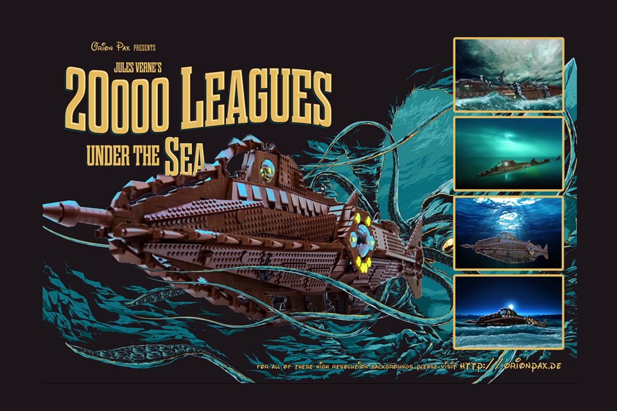 HQ 20,000 Leagues Under The Sea Wallpapers | File 767.38Kb