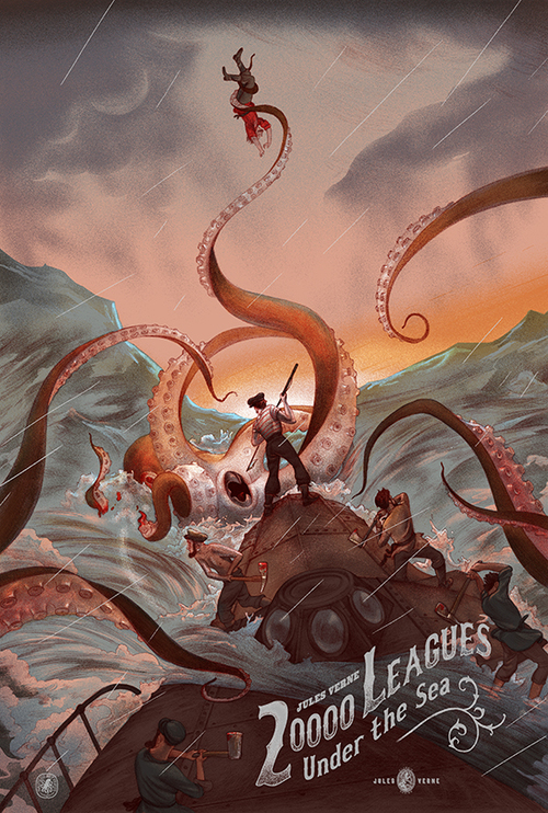 20,000 Leagues Under The Sea Backgrounds, Compatible - PC, Mobile, Gadgets| 500x742 px
