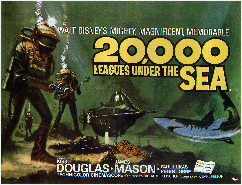 Images of 20,000 Leagues Under The Sea | 1002x768