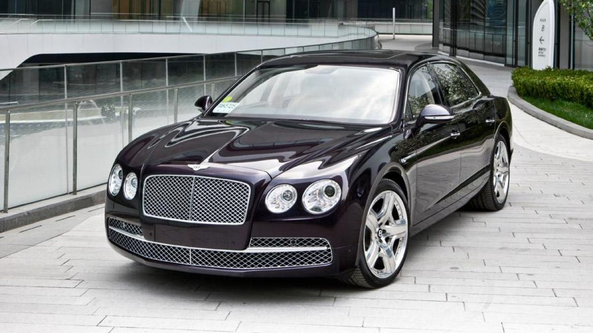 HQ 2014 Bentley Flying Spur Wallpapers | File 125.46Kb