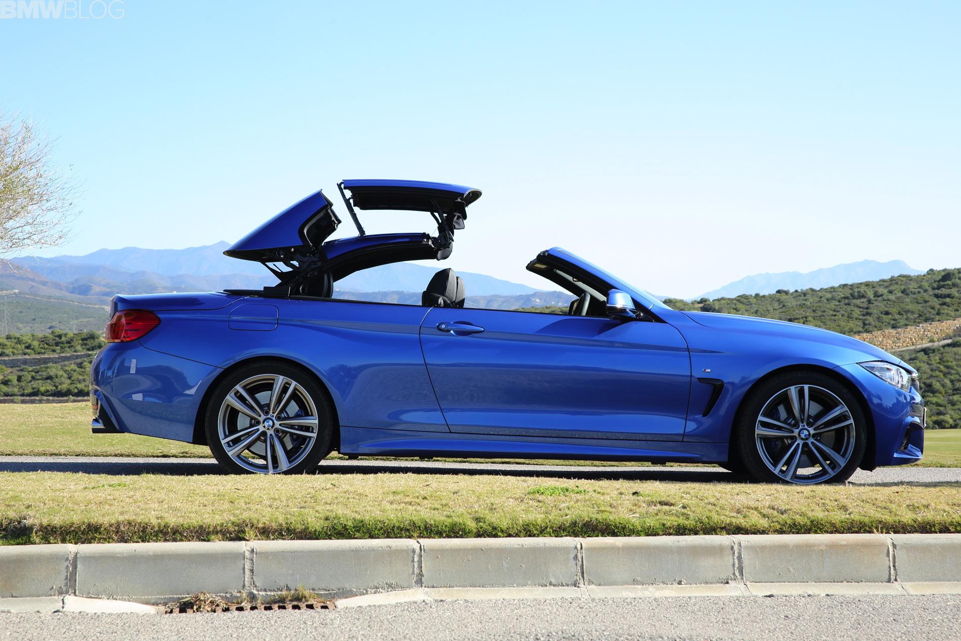 High Resolution Wallpaper | 2014 BMW 4-Series Convertible 1900x1267 px