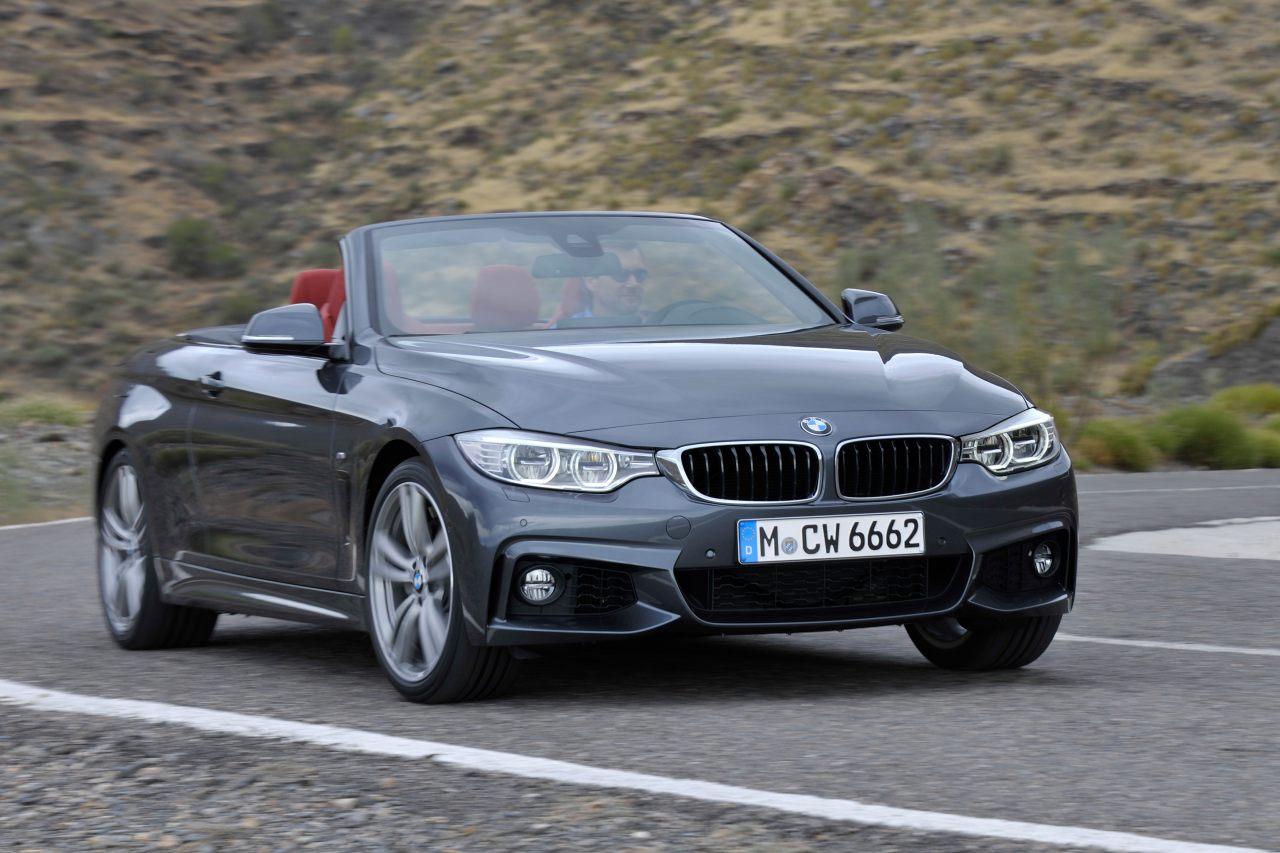 High Resolution Wallpaper | 2014 BMW 4-Series Convertible 1280x853 px