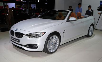 2014 BMW 4-Series Convertible #13