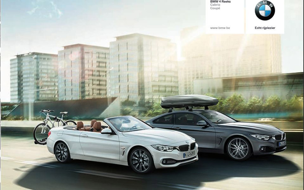 Nice Images Collection: 2014 BMW 4-Series Convertible Desktop Wallpapers
