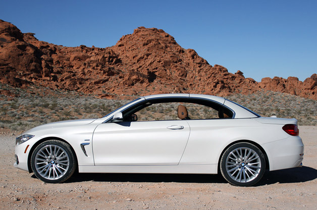 HD Quality Wallpaper | Collection: Vehicles, 628x417 2014 BMW 4-Series Convertible