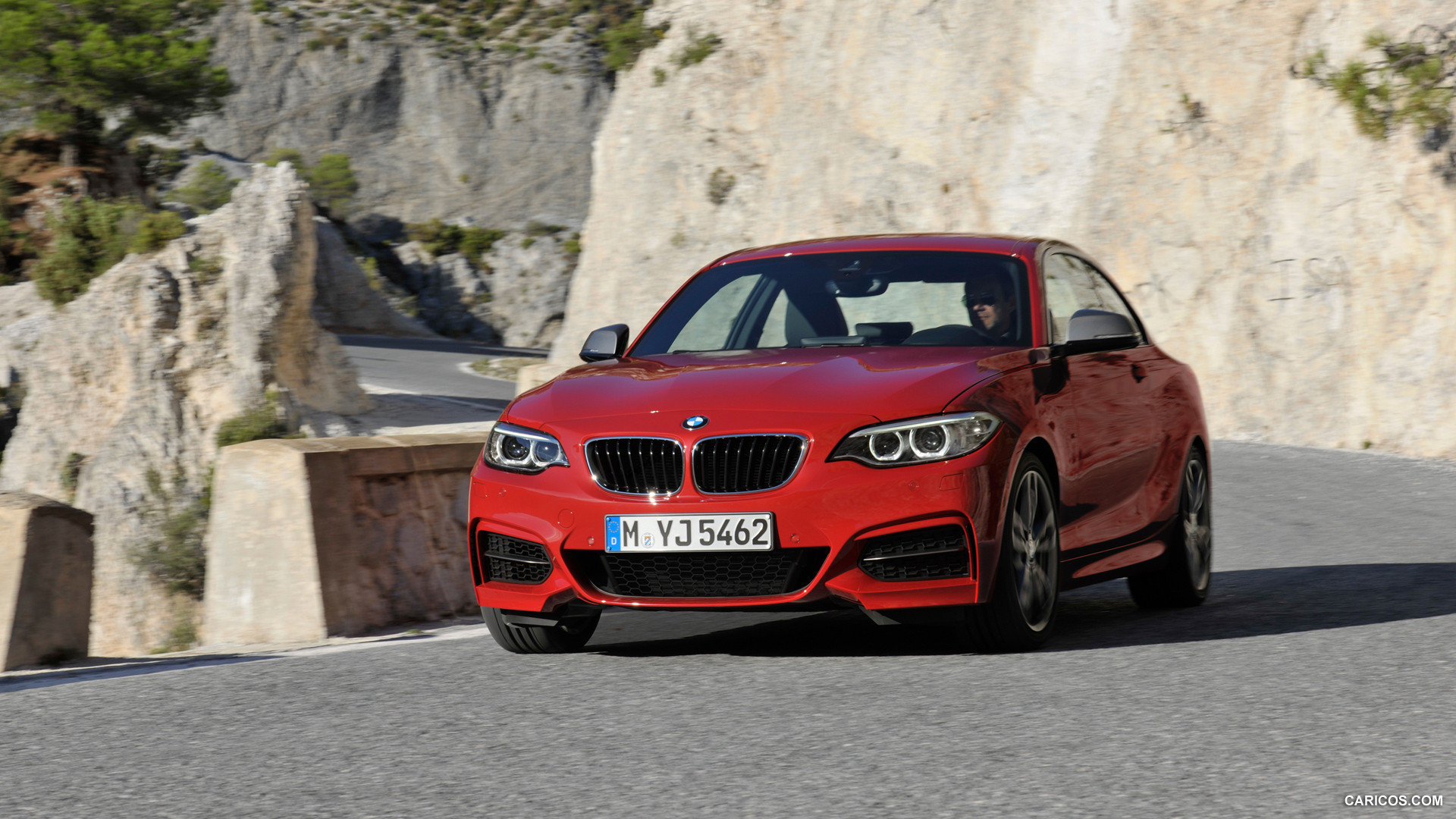High Resolution Wallpaper | 2014 BMW M235i Coupe 1920x1080 px