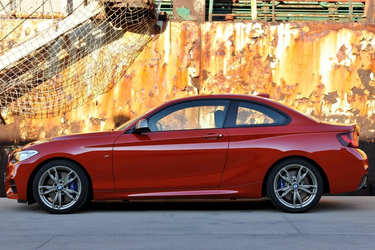 HD Quality Wallpaper | Collection: Vehicles, 1280x853 2014 BMW M235i Coupe