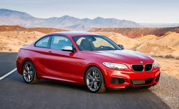 Nice wallpapers 2014 BMW M235i Coupe 626x382px