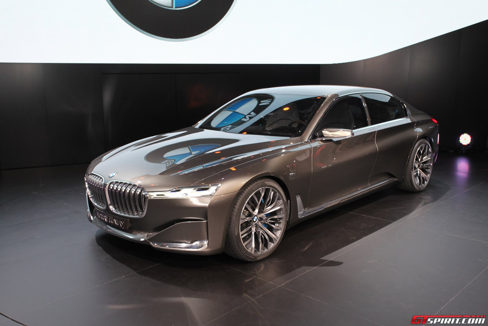 Amazing 2014 Bmw Vision Future Luxury Concept Pictures & Backgrounds