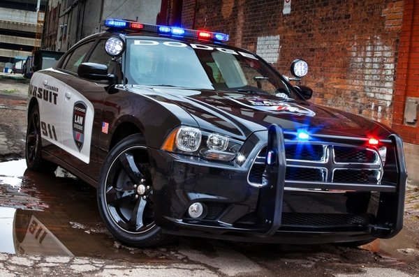 Nice wallpapers 2014 Dodge Charger Pursuit  600x397px