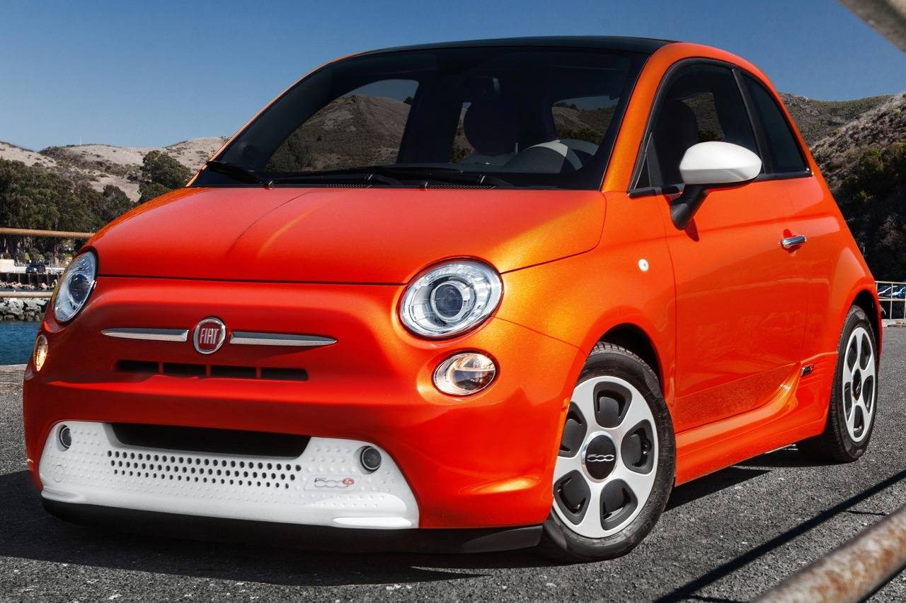 2014 Fiat 500e Backgrounds on Wallpapers Vista