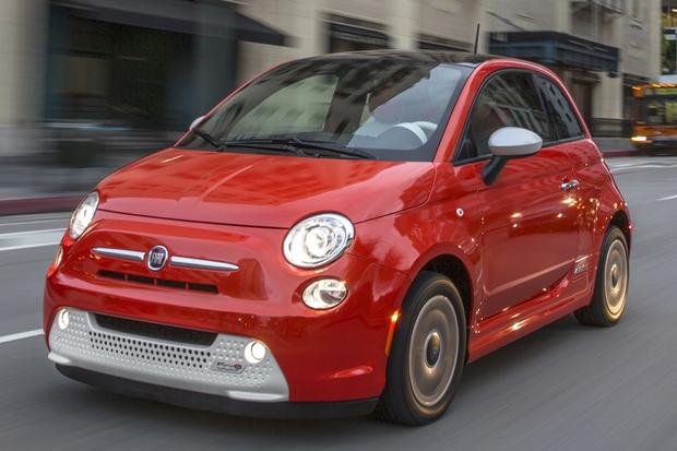 Nice wallpapers 2014 Fiat 500e 620x413px