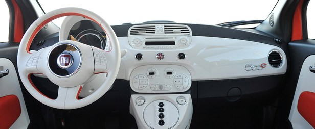 2014 Fiat 500e High Quality Background on Wallpapers Vista