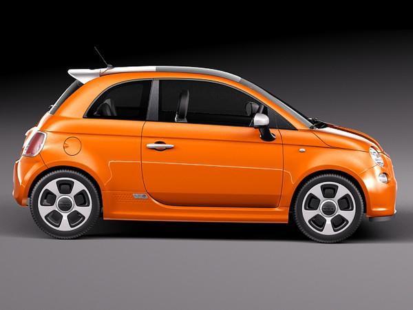 2014 Fiat 500e Pics, Vehicles Collection