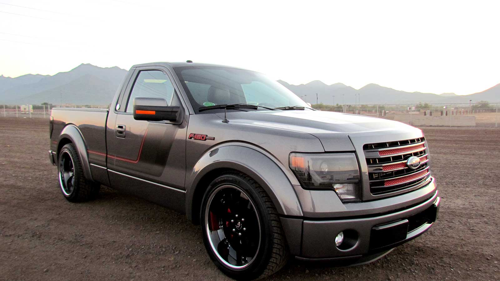 Nice Images Collection: 2014 Ford F-150 Tremor Desktop Wallpapers