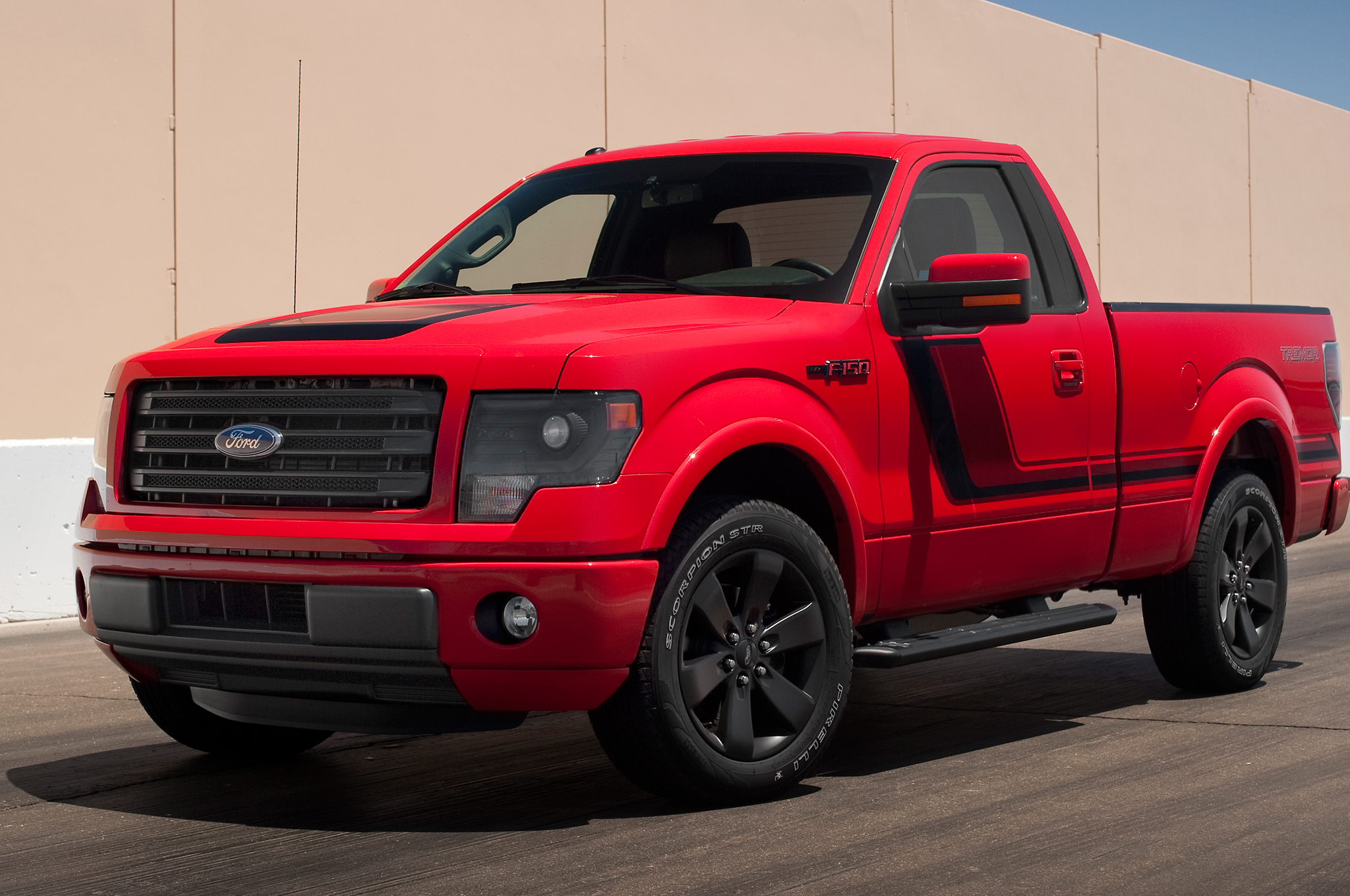 2014 Ford F-150 Tremor Backgrounds, Compatible - PC, Mobile, Gadgets  2048x1360 px