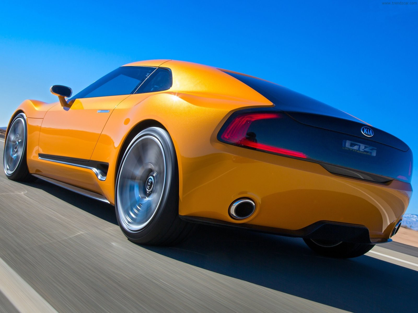 Nice wallpapers 2014 Kia GT4 Stinger Concept  1600x1200px