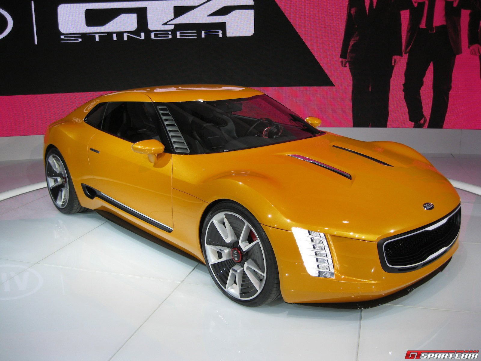 Nice Images Collection: 2014 Kia GT4 Stinger Concept  Desktop Wallpapers