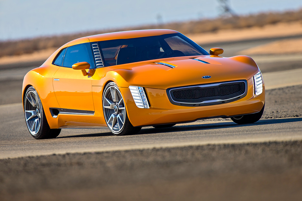 HD Quality Wallpaper | Collection: Vehicles, 1230x820 2014 Kia GT4 Stinger Concept