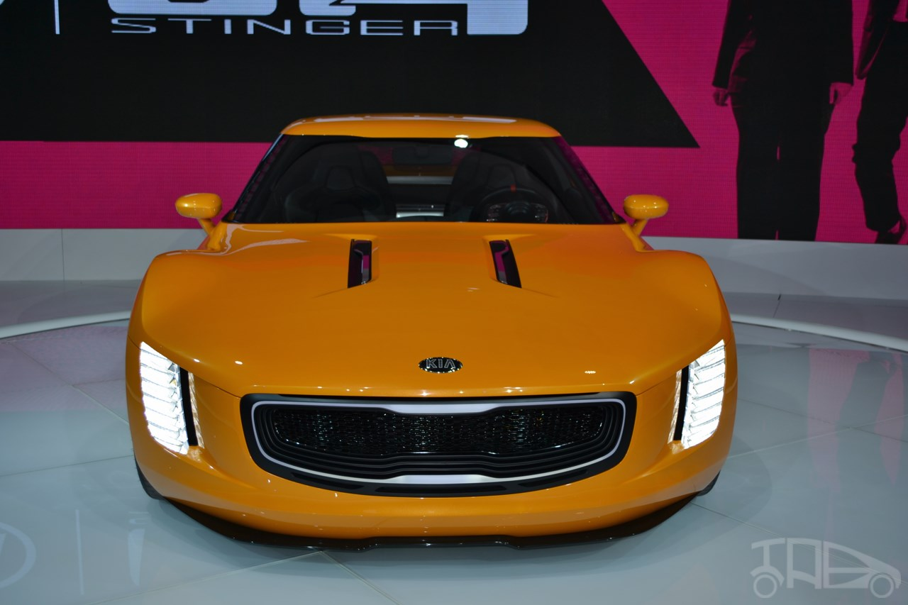 HD Quality Wallpaper | Collection: Vehicles, 1280x853 2014 Kia GT4 Stinger Concept