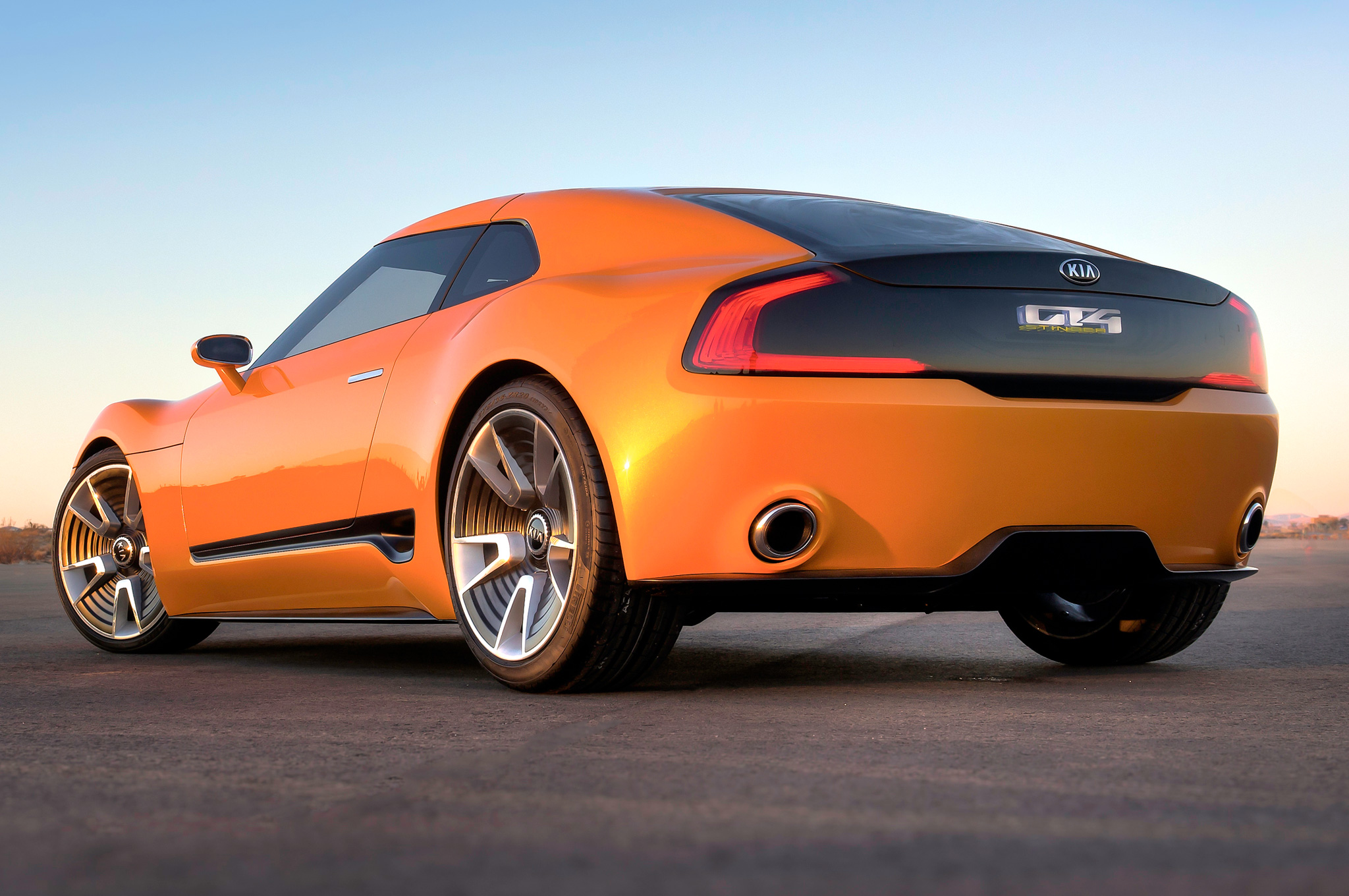 2014 Kia GT4 Stinger Concept  High Quality Background on Wallpapers Vista