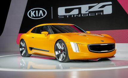 High Resolution Wallpaper | 2014 Kia GT4 Stinger Concept  429x262 px