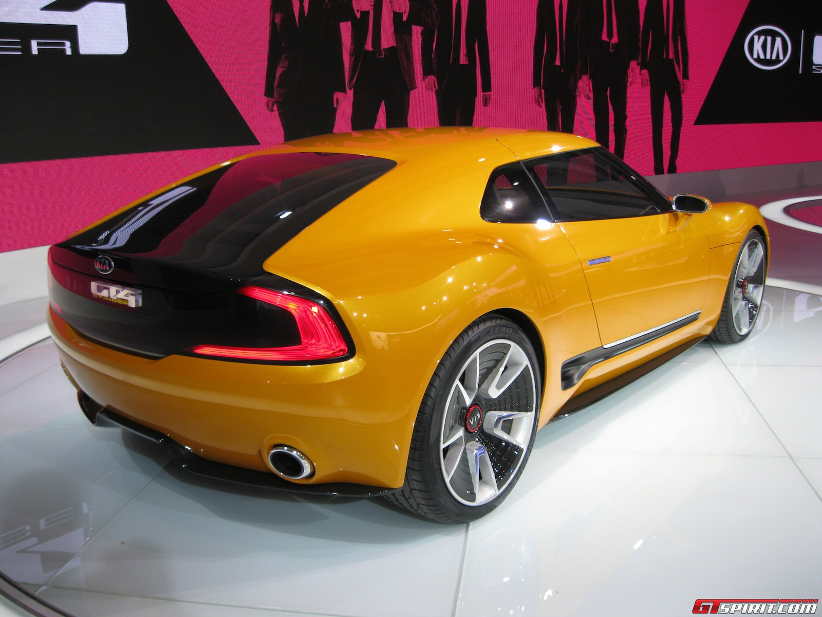 High Resolution Wallpaper | 2014 Kia GT4 Stinger Concept  1600x1200 px