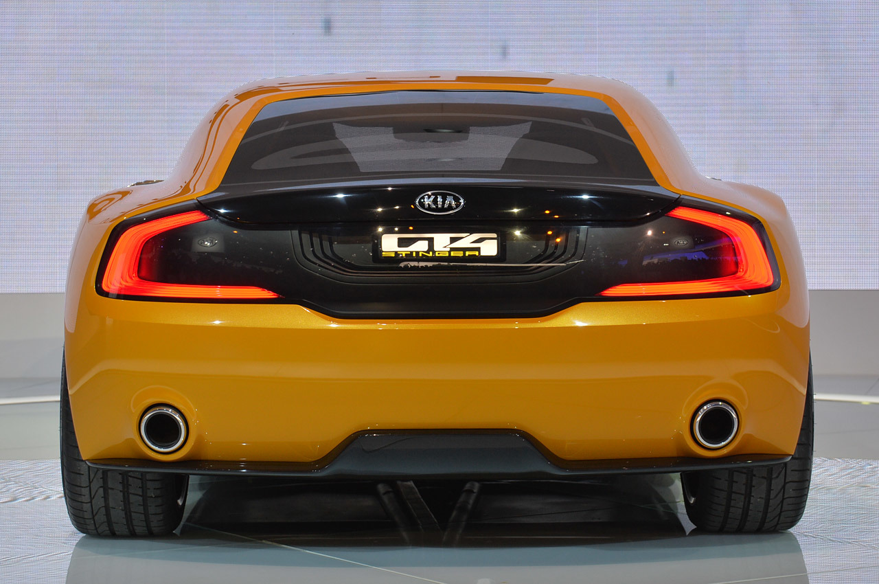 High Resolution Wallpaper | 2014 Kia GT4 Stinger Concept  1280x850 px