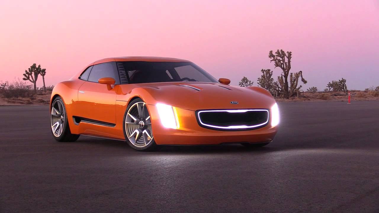 1280x720 > 2014 Kia GT4 Stinger Concept  Wallpapers