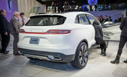 Nice Images Collection: 2014 Lincoln Mkc Concept Desktop Wallpapers