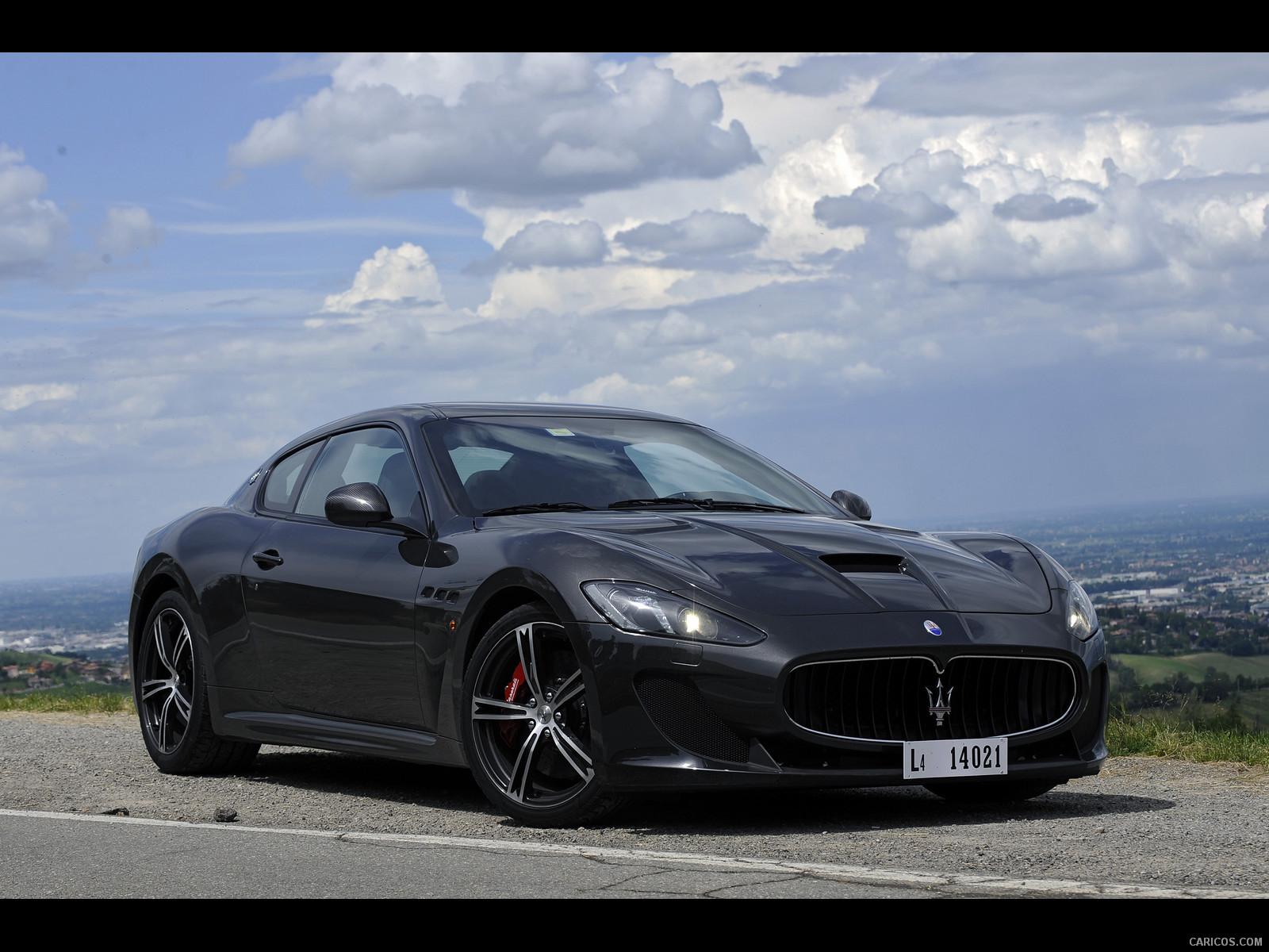 HD Quality Wallpaper | Collection: Vehicles, 1600x1200 2014 Maserati GranTurismo MC Stradale