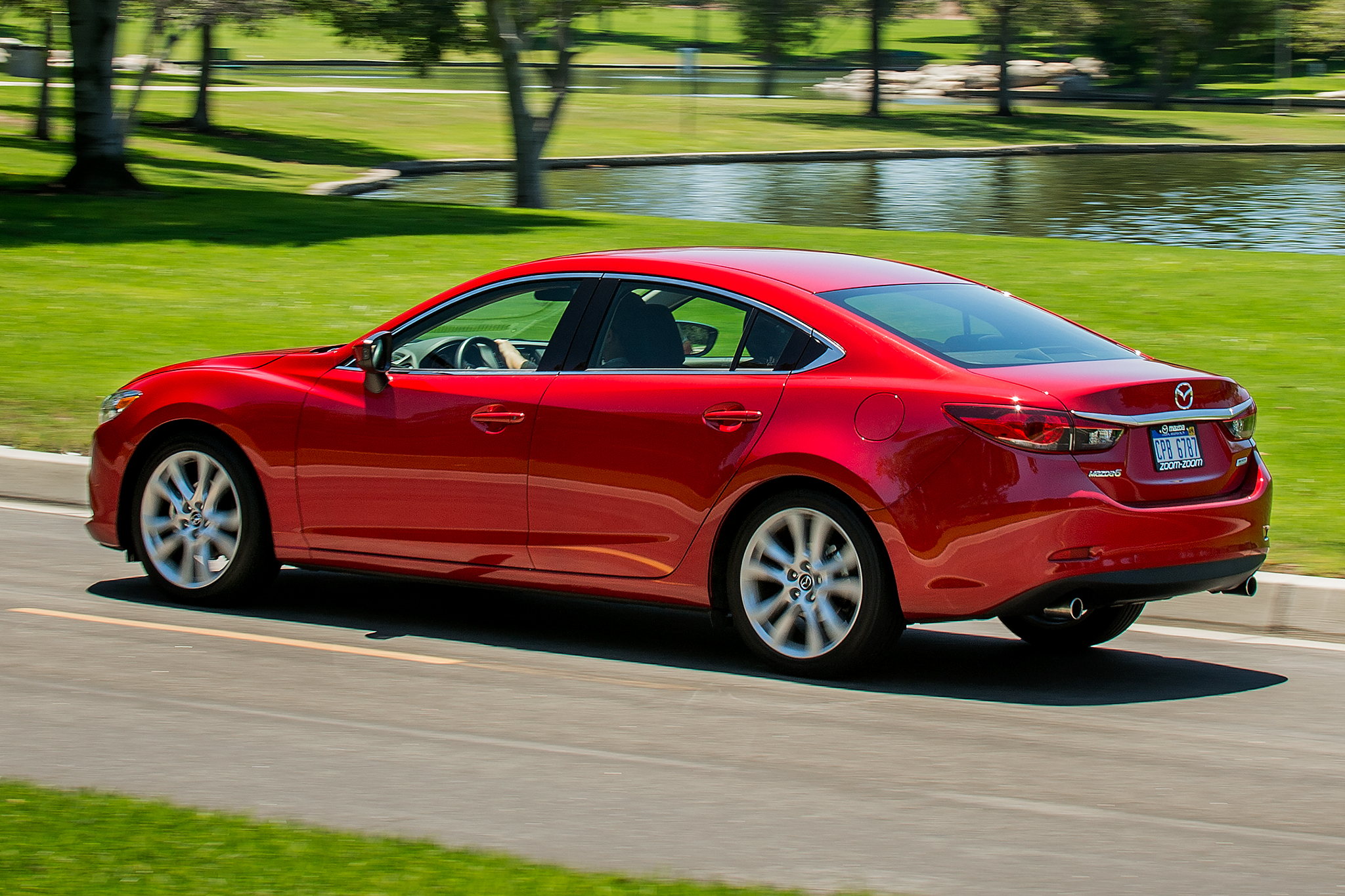 HD Quality Wallpaper | Collection: Vehicles, 2048x1365 2014 Mazda 6