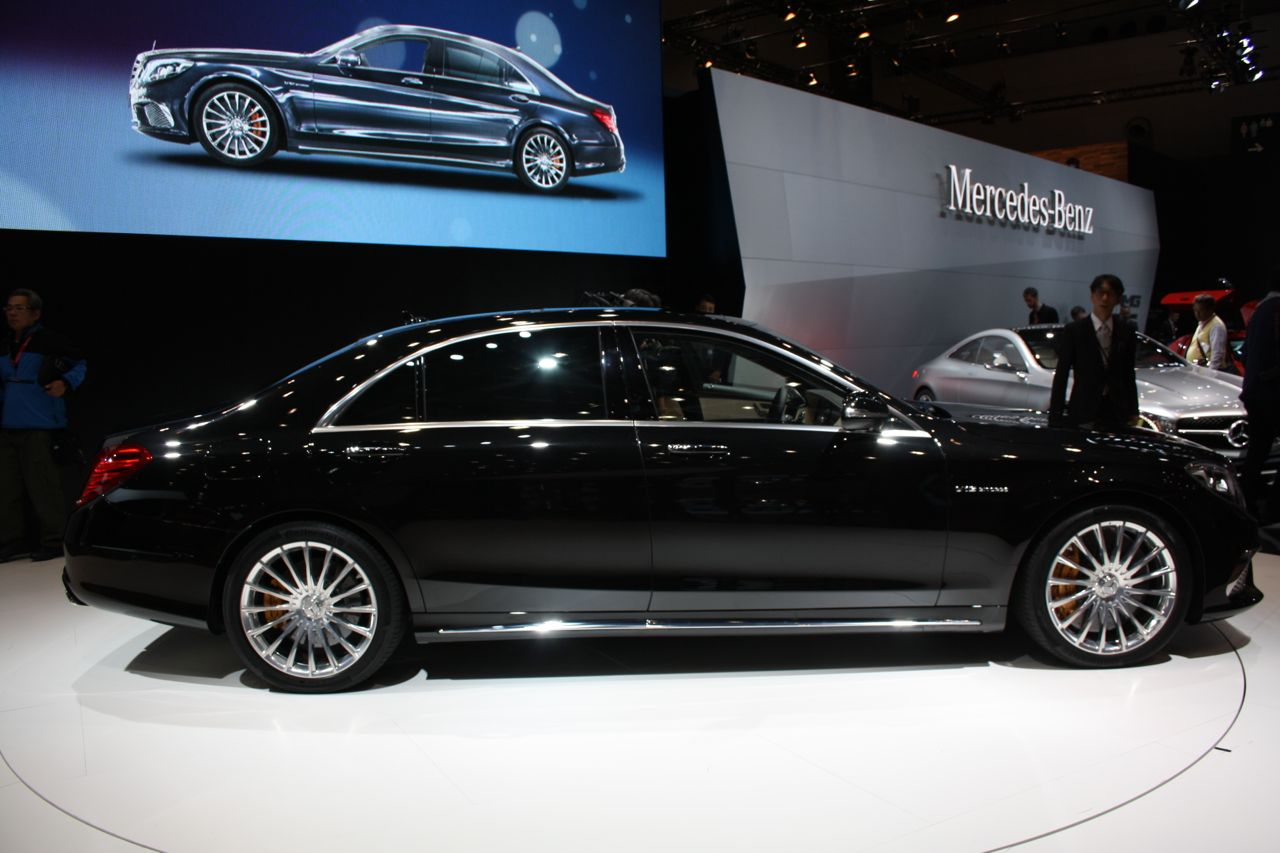 Nice Images Collection: 2014 Mercedes-Benz S65 AMG Desktop Wallpapers