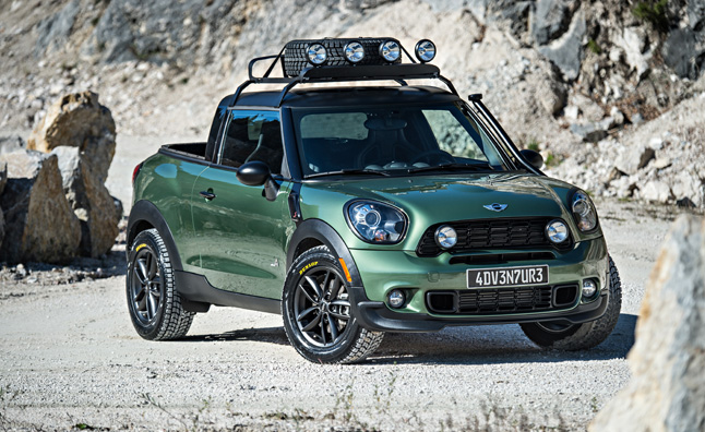 HD Quality Wallpaper | Collection: Vehicles, 646x396 2014 Mini Paceman Adventure