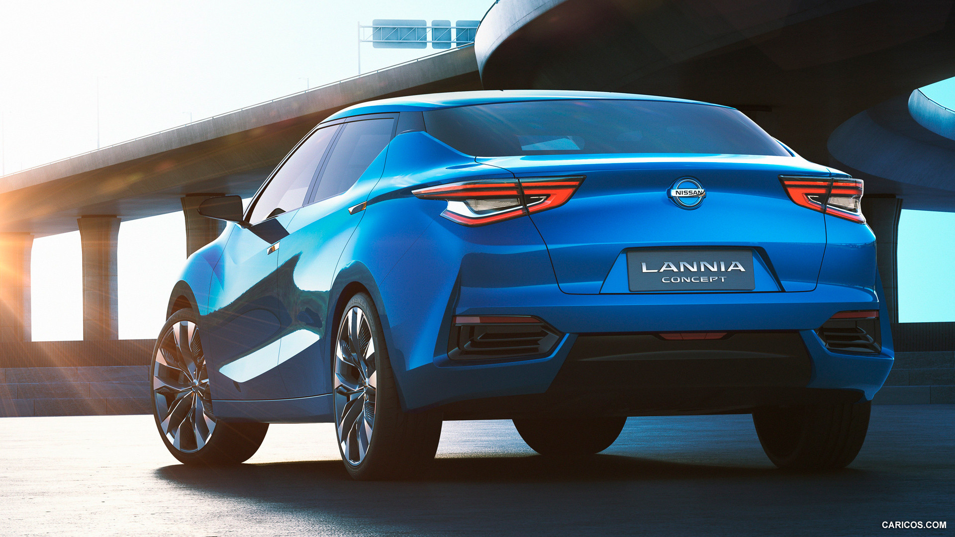 Nice wallpapers 2014 Nissan Lannia Concept 1920x1080px