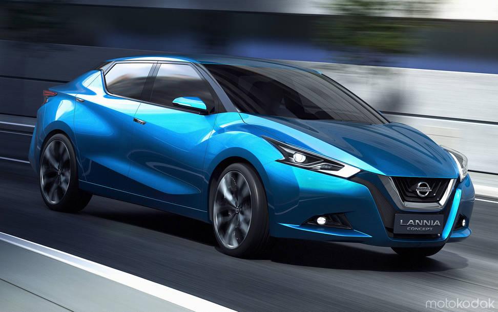 Amazing 2014 Nissan Lannia Concept Pictures & Backgrounds