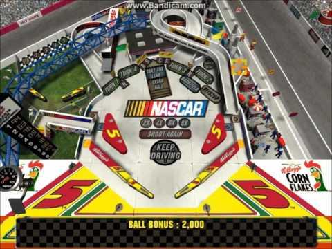 3-D Ultra NASCAR Pinball #7