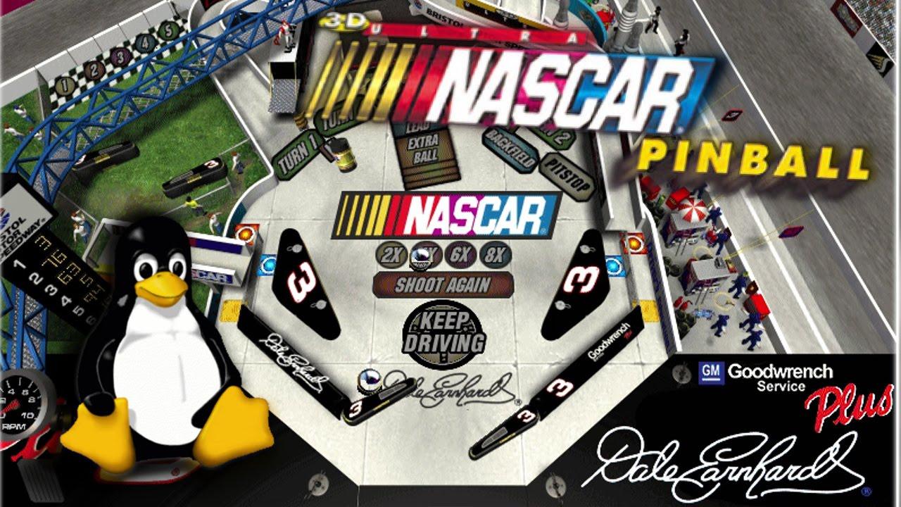 3-D Ultra NASCAR Pinball #4