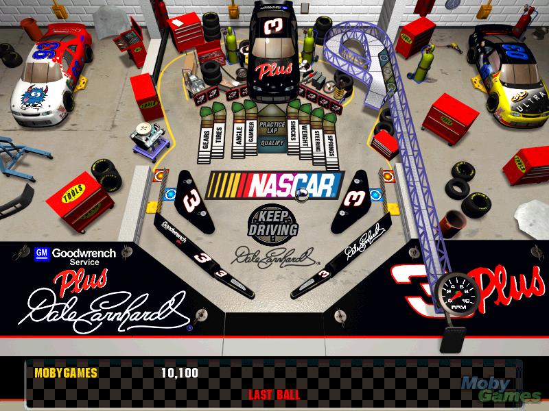 3-D Ultra NASCAR Pinball #9