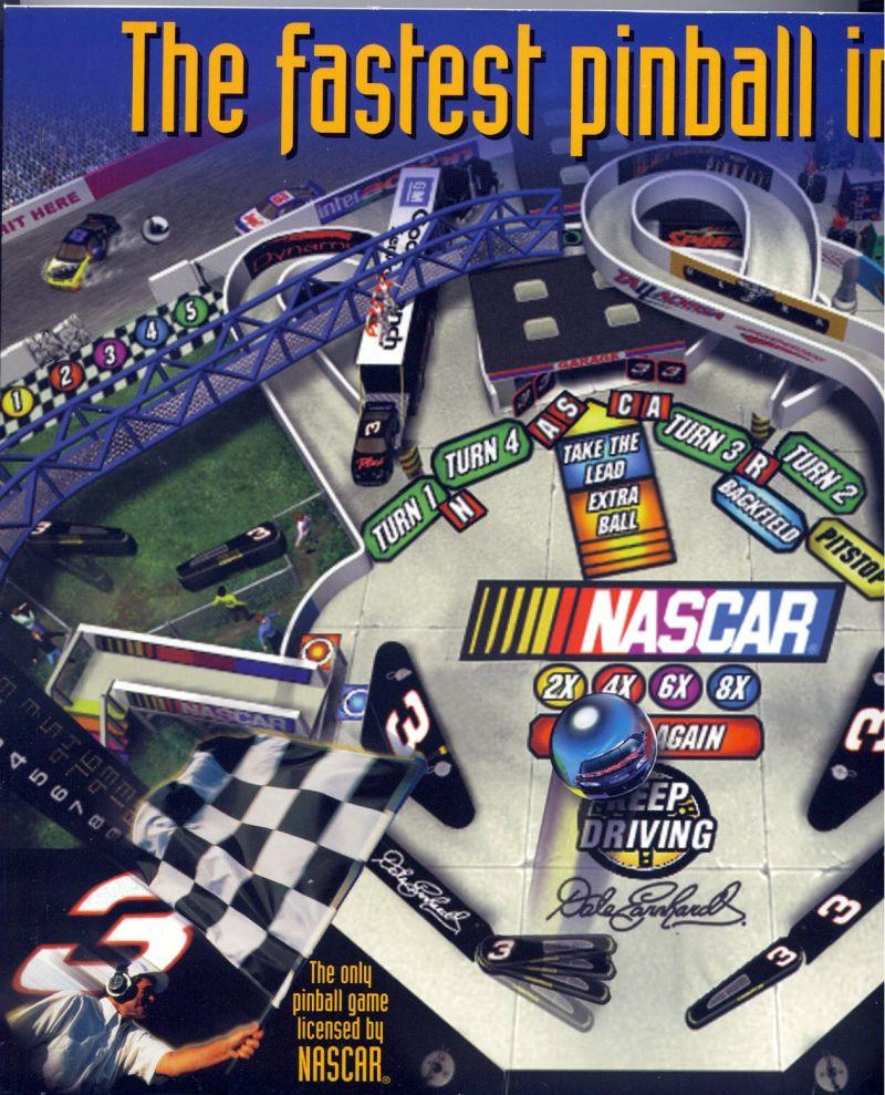 3-D Ultra NASCAR Pinball #8