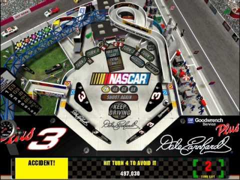 HQ 3-D Ultra NASCAR Pinball Wallpapers | File 32.08Kb