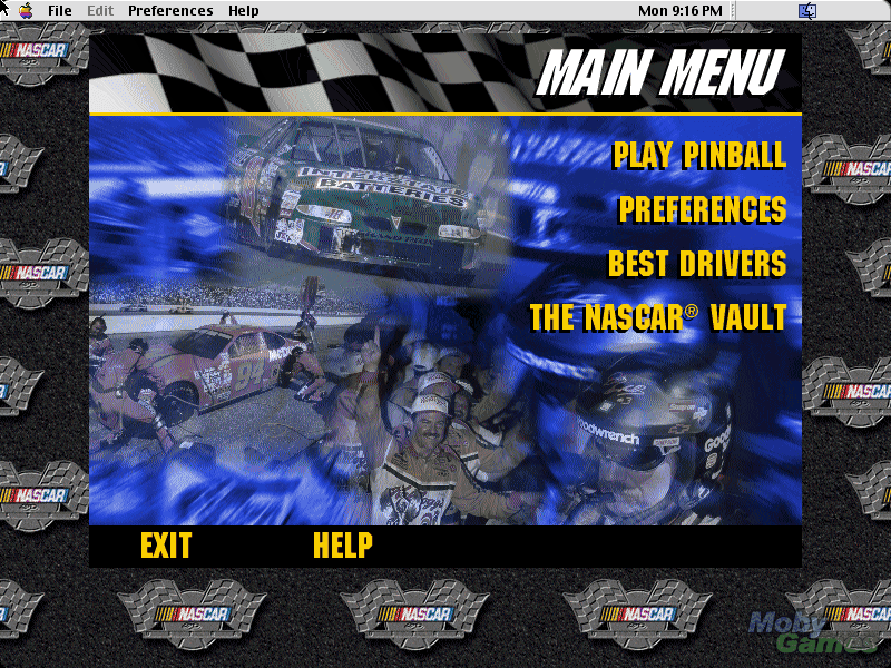 3-D Ultra NASCAR Pinball #20