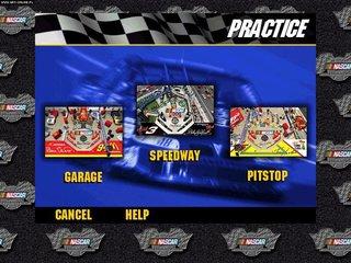 3-D Ultra NASCAR Pinball #18