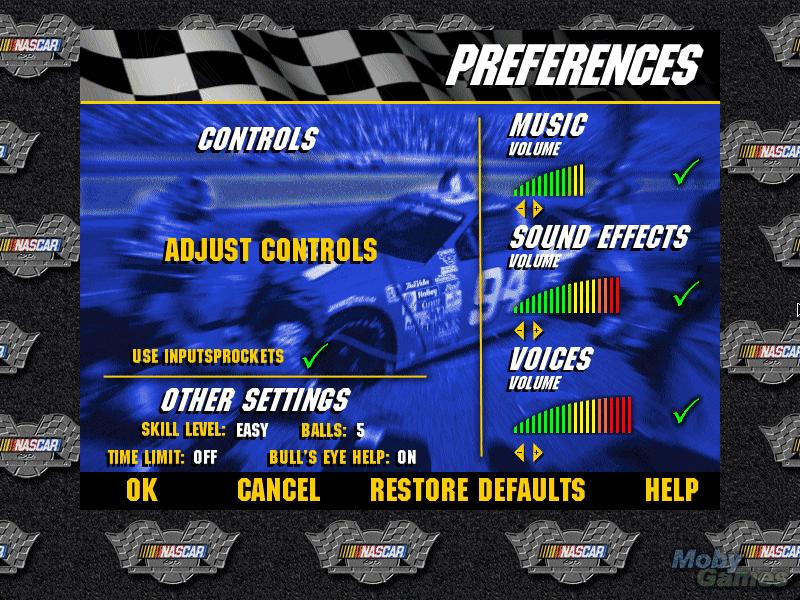 3-D Ultra NASCAR Pinball #15